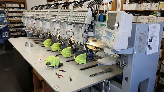 Athletic Threads Brand New Embroidery Machine