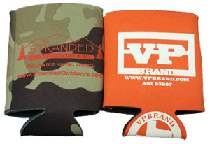 Athletic Threads Camo and Solid Koozies