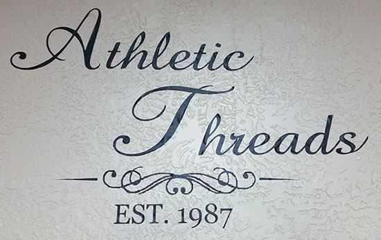 Athletic Threads Wall Decals